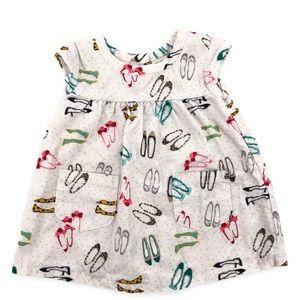 Cherokee Newborn Corduroy Shoe Dress Size Newborn